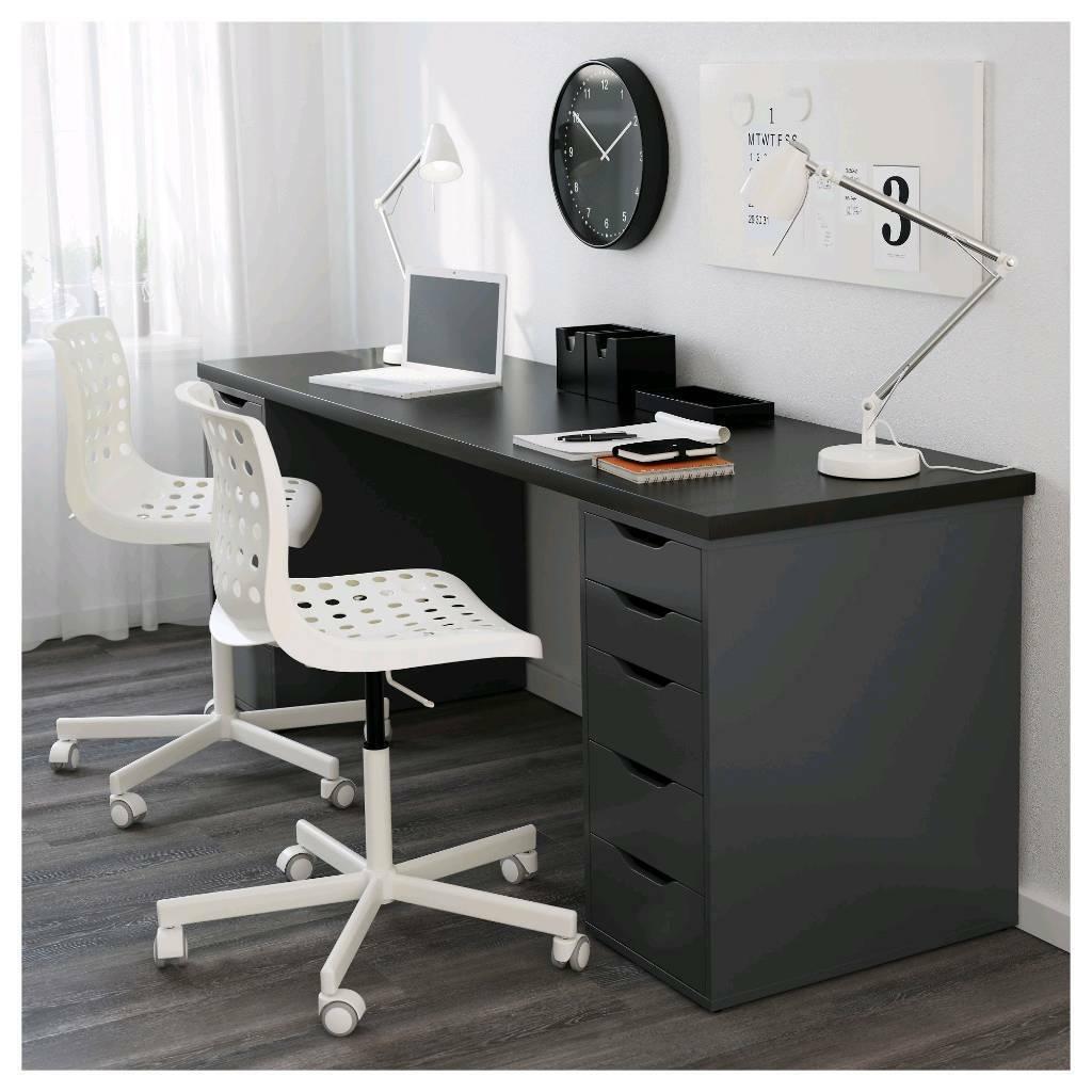 Ikea Alex Linnmon Desk