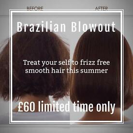 Mobile hairdresser 50% Off Brazilian blowout
