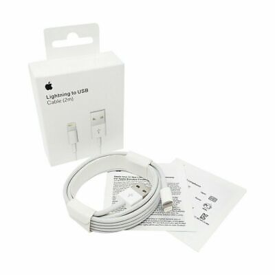 6FT Original Apple Charger Lightning to USB Cable for iPhone 12/11/X/8 with box