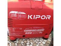 Generator KIPOR digital generator. Camping mate KGE980 tc Nice condition