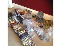Collection of Warhammer, scenery and magazines