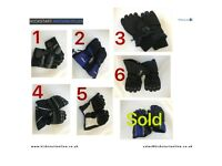 MOTORCYCLE GLOVES SOME USED SOME NEW WITH SLIGHT DEFECTS ONLY £10 EACH ALSO JACKETS -HELMETS ETC