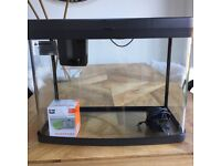 Fish Tank Acquarium with pump and filters and light