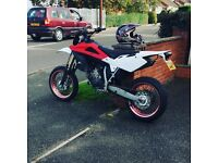 Husky 125sm just had top end done new fly wheel long mot full v5 in my name