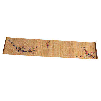 Chinese Bamboo Wooden Tea Mat Zen Table Runner Coaster Heat Proof Mat #6 for sale  Shipping to Canada