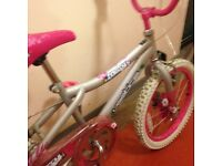 Misty vertical kids bike great condition.