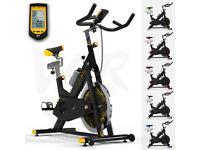 RevXtreme Indoor Aerobic Exercise Bike - 22KG Flywheel (Yellow)
