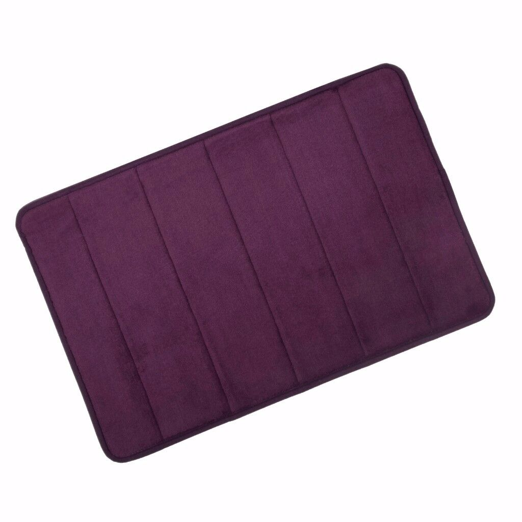 Microfibre Memory Foam Bathroom Shower Bath Mat