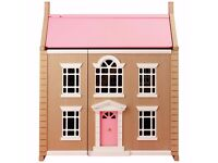 Brand New Boxed Leckford House Dolls House from JOHN LEWIS!