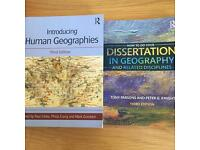 Geography textbooks