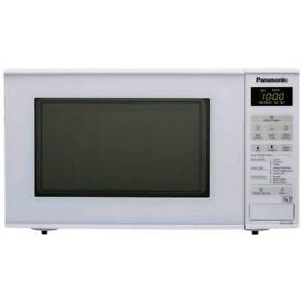 NEW PANASONIC NN E271W WHITE MICROWAVE FOR JUST £50
