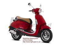 *Brand New* 66 plate Lexmoto Vienna Scooter. Warranty. Free Delivery. Part-ex