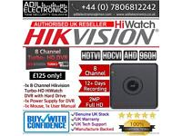 8 Channel Hikvision Turbo-HD HiWatch Cube DVR with HDD