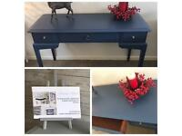Beautiful Stag Minstrel Dressing Table / Desk / Console