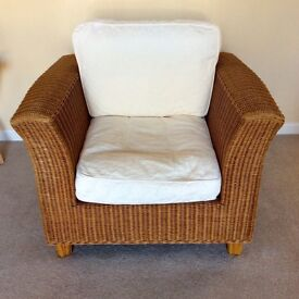 M&S wicker sofa set. 3+1