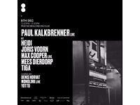Paul Kalkbrenner LIVE at Printworks, Surrey Quays London