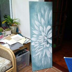 Large canvas oil painting
