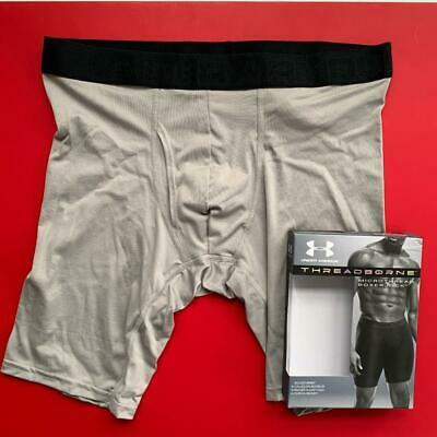 "Under Armour Threadborne Microthread 9"" Large 34-36 BOXERJOCK boxer brief shorts"