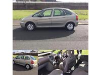 06 REG CITROEN PICASSO 1.6 HDI DIESEL EXCLUSIVE FRESH 1 YEARS MOT READY TO GO