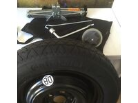 SPARE WHEEL AND JACK