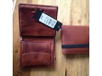Wallets brand new leather £5 each.