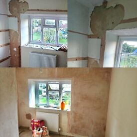 Plasterer/plastering