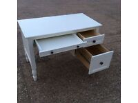 White solid children's desk from Pottery Barn Kids. Can deliver