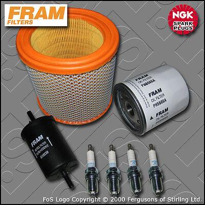 SERVICE KIT CITROEN SAXO 1.6 8V VTR FRAM OIL AIR FUEL FILTERS PLUGS (1996-2000)