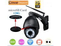 WIRELESS DOME PAN/TILT 5X ZOOM CCTV CAMERA