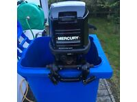 25hp Mercury 2 stroke l/shaft outboard/boat engine 90s...great runner..£480ono Downpatrick