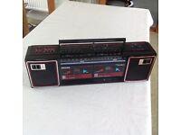 Phillips double deck radio.