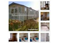 Marton mere blackpool , caravan for hire