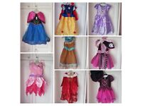 Bundle of girls fancy dress/Disney Princess outfits, age 3-4/3-5
