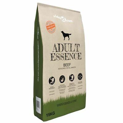 vidaXL Comida Seca para Perros 15 kg Res Alimento Nutrición Pienso Mascotas