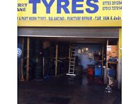 Tyres Shop Fully fitted for Sale!!!! with Stock in main Road N17 9NG
