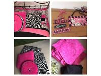 For that special girl ! Full set quilted double throw pillow shams ,check all pictures