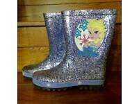 Disney Frozen Girls Wellies, UK Size 13