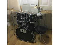 Fully Refurbished CB Drum Kit // Pearl Cymbals // Free Local Delivery