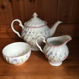 Beautiful painted tea set