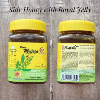Mujeza Sidr Honey with Royal Jelly 300g
