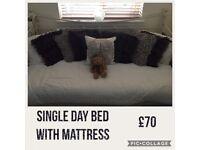 Single Day Bed & Matress