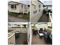 Caravan for hire Cayton Bay