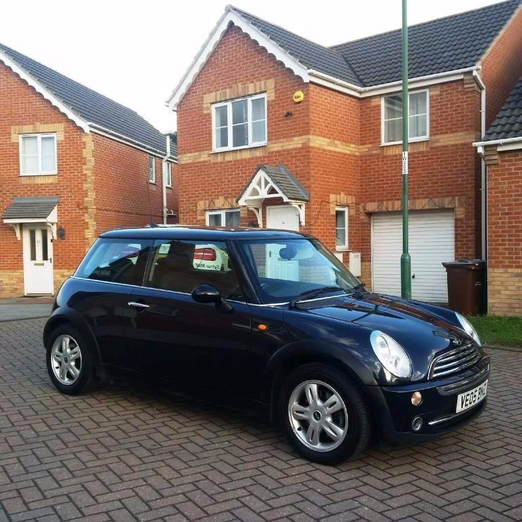 MINI ONE 1.6 BLACK, MOT 12 MONTHS, FULL SERVICE HISTORY, FULL HPI CLEAR