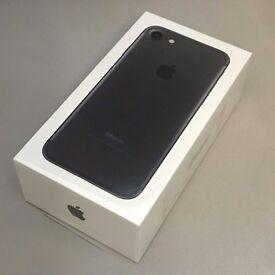 iPhone 7 Matt Black 32 Gb New - Sealed - EE Only