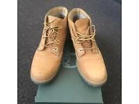 Timberland Boots Woman Chukka Brown Wheat Size UK 5 Immaculate Condition