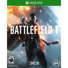Will trade battlefield 1 on Xbox 1 + £10 for overwatch on Xbox one