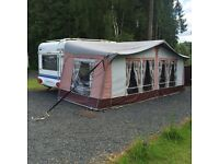 HOBBY DE LUXE EASY 5 BIRTH SITED GROUND RENT PAID TILL APRIL