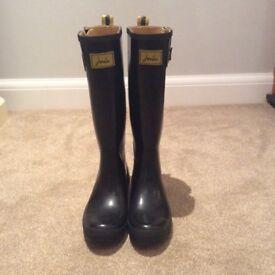 Joules ladies wellington boots. UK size 9