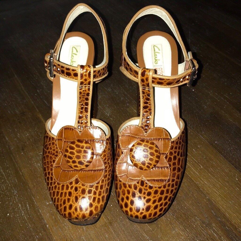 f8478c068f51 Orla Kiely platform shoes - never been worn