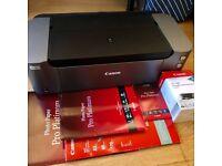 Canon Pixma Pro 100s Digital Photo Inkjet Printer + New Inks and Paper